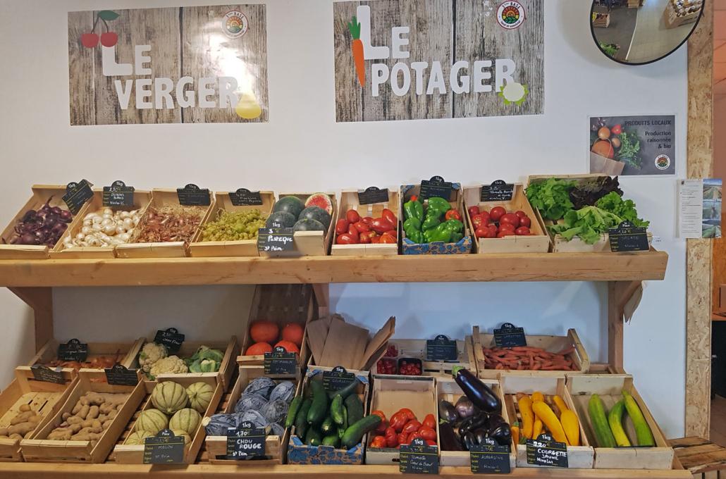 3ème Base / Nivolas-Vermelle / Fruits et légumes