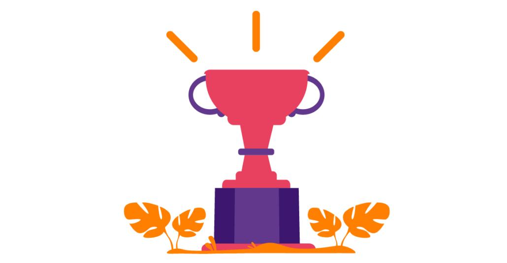Le trophée du Super Laners exceptionnel